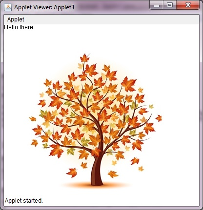 Drawing In An Applet Decodejava Com