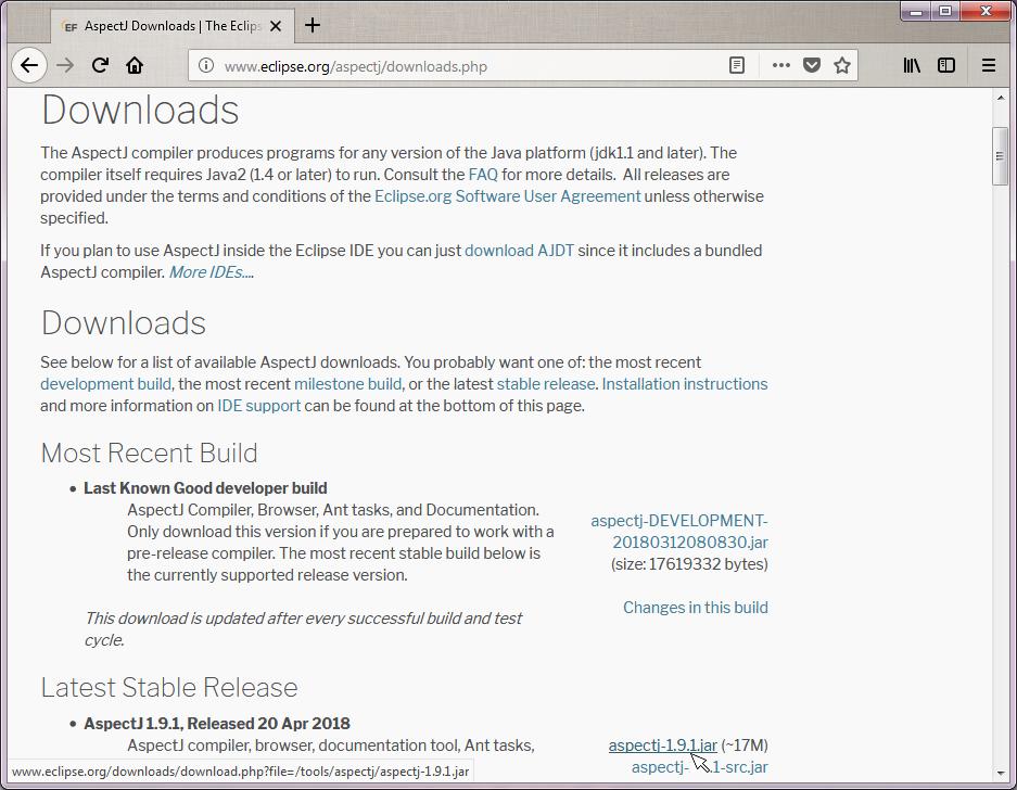 Download and Install AspectJ - Decodejava com