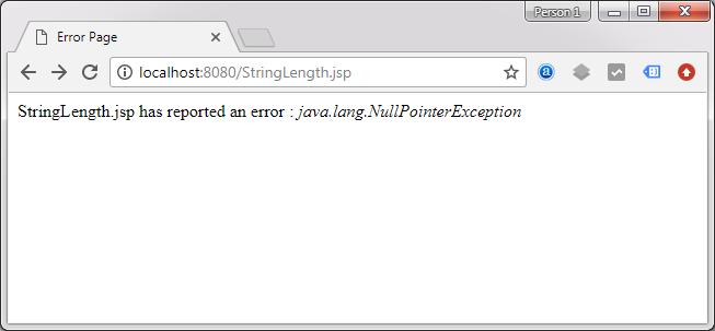 JSP isErrorPage and errorPage Attribute - Decodejava com