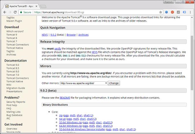Installing Apache Tomcat Web Server - Decodejava com